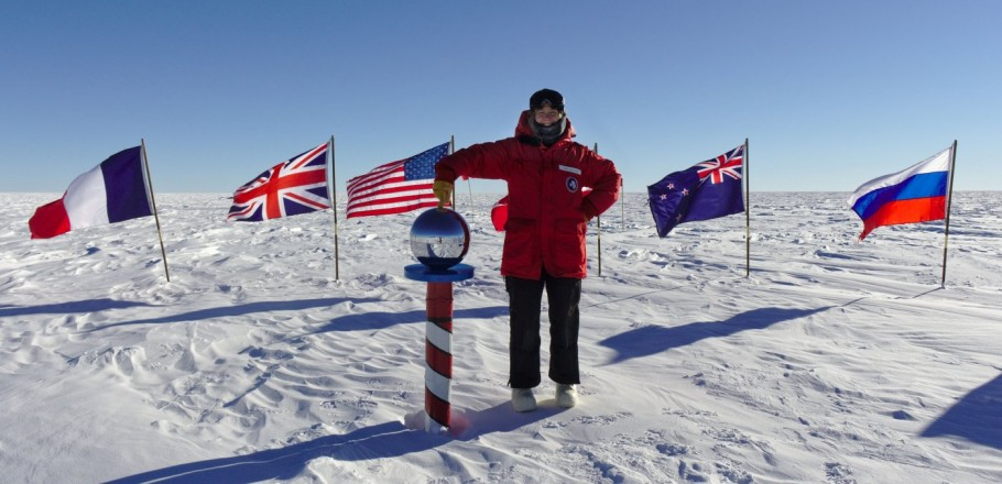 Raffi at South Pole