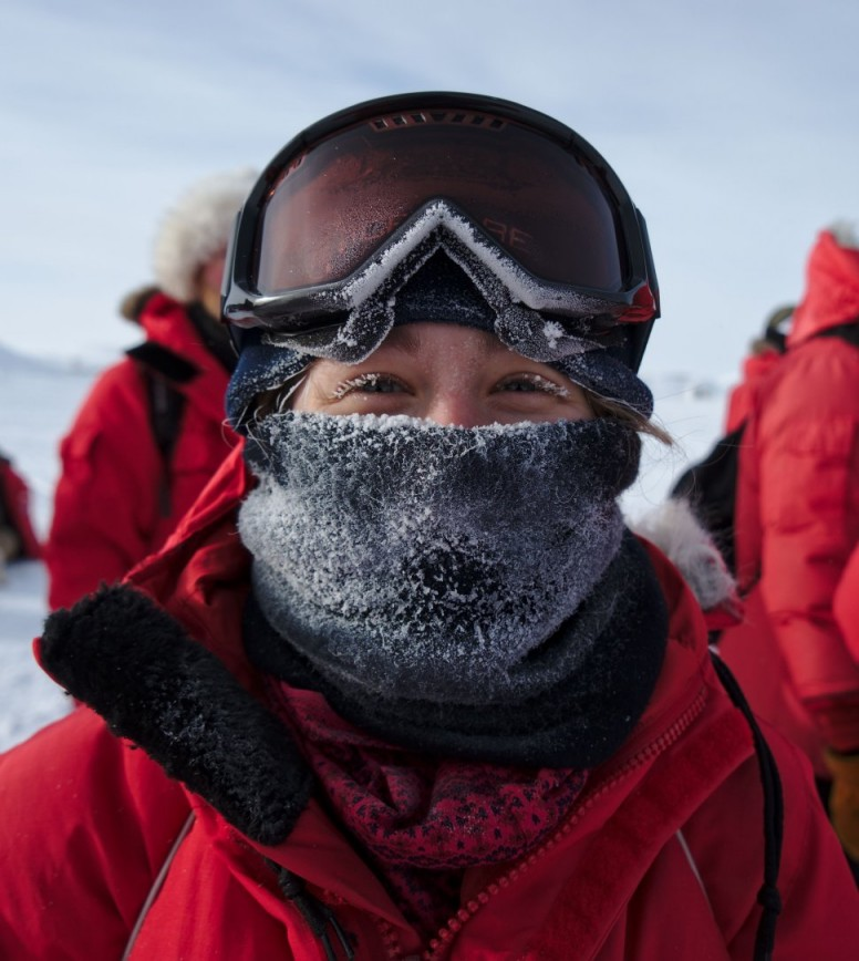 nechnif net: A year at South Pole