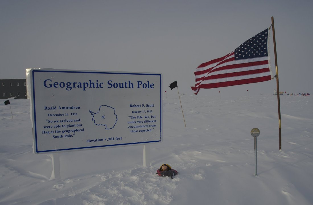 The geographic South Pole