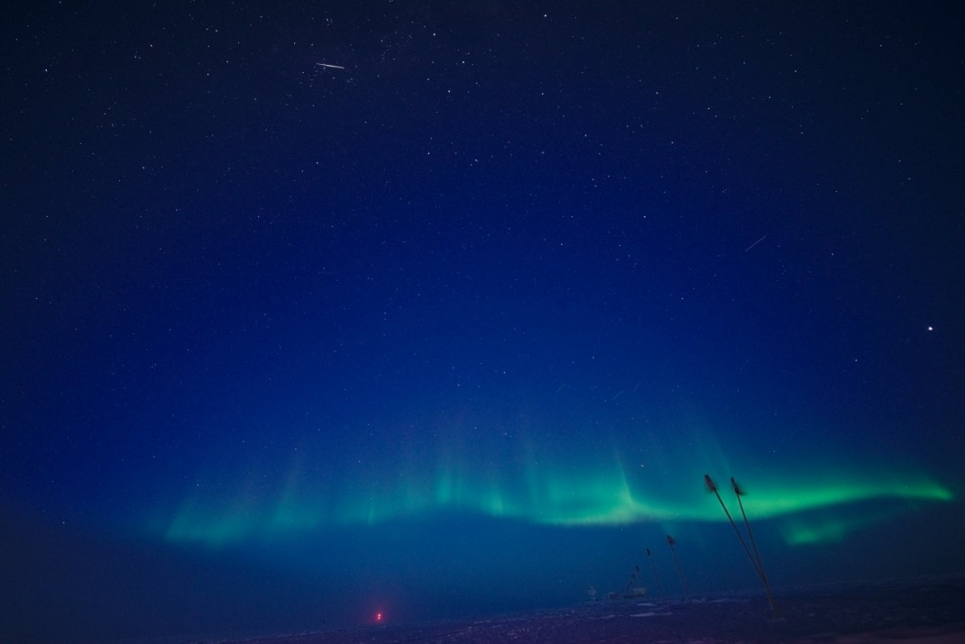 Nechnif a year at south pole aurora australis publicscrutiny Images