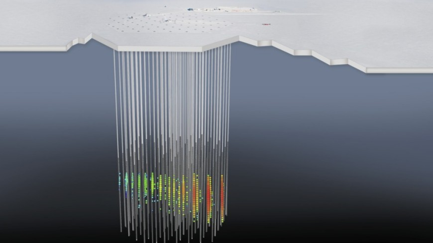 The neutrino's energy signature in IceCube